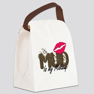 Mud is My Makeup Canvas Lunch Bag