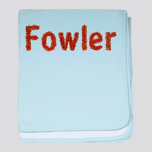 Fowler Fall Leaves baby blanket