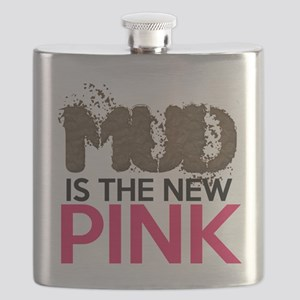 Mud Is The New Pink Flask