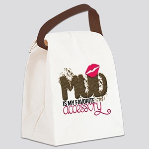 Mud is My Favorite Accessory Canvas Lunch Bag