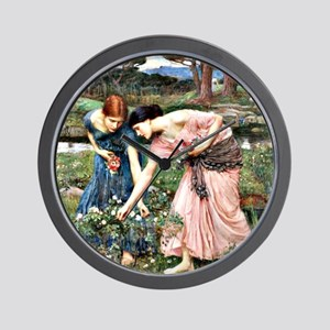 Waterhouse: Gathering Ye Rosebuds While Wall Clock