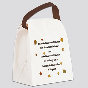 brilliant problem solver 2 Canvas Lunch Bag