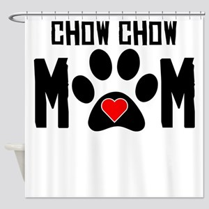 Chow Chow Mom Shower Curtain