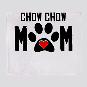 Chow Chow Mom Throw Blanket