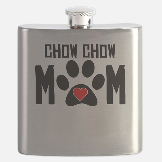 Chow Chow Mom Flask