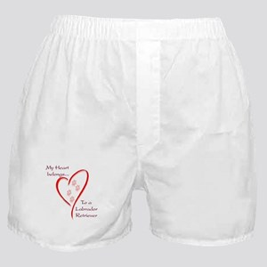 Lab Heart Belongs Boxer Shorts
