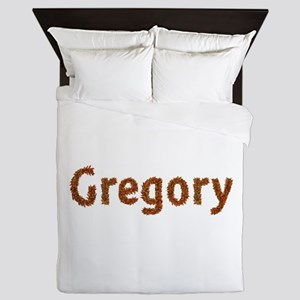 Gregory Fall Leaves Queen Duvet