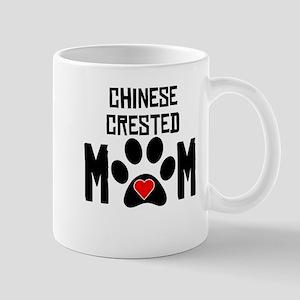 Chinese Crested Mom Mugs