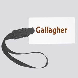 Gallagher Fall Leaves Large Luggage Tag