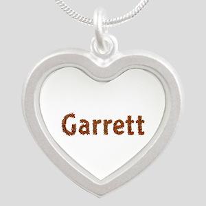 Garrett Fall Leaves Silver Heart Necklace