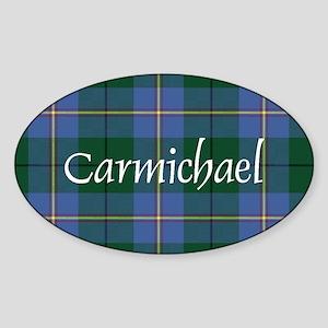 Tartan - Carmichael Sticker (Oval)