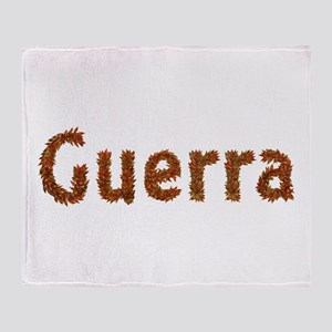 Guerra Fall Leaves Throw Blanket