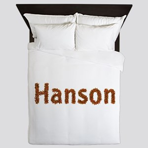 Hanson Fall Leaves Queen Duvet