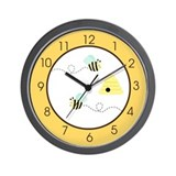 Bumblebee Wall Clocks