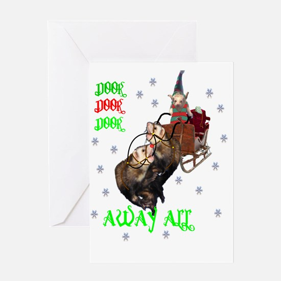 dook away all Greeting Cards