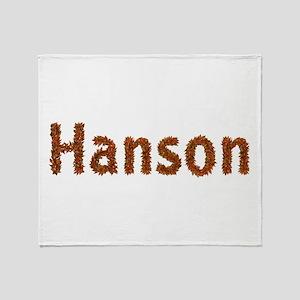 Hanson Fall Leaves Throw Blanket