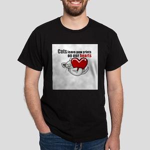 Cats leave paw prints T-Shirt