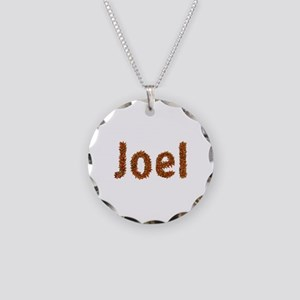 Joel Fall Leaves Necklace Circle Charm