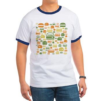 Burgers Ringer T-Shirt