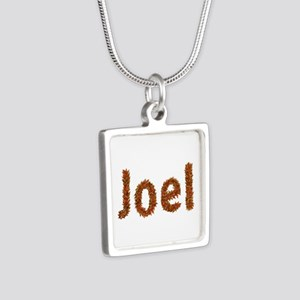 Joel Fall Leaves Silver Square Necklace