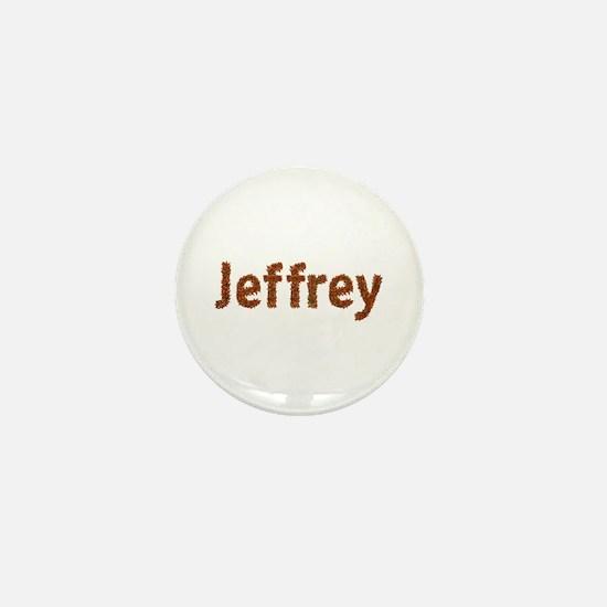 Jeffrey Fall Leaves Mini Button