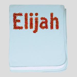 Elijah Fall Leaves baby blanket