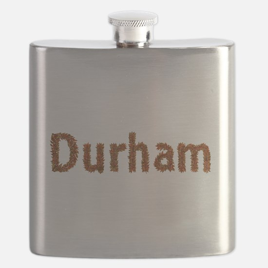 Durham Fall Leaves Flask