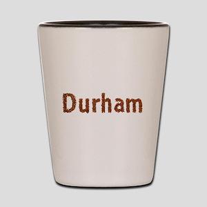 Durham Fall Leaves Shot Glass