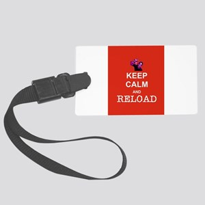 Keep Calm and Reload Zombies Luggage Tag