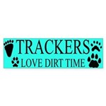 Tracker Bumper Sticker
