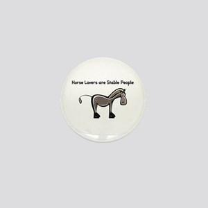 Horse Lovers Mini Button