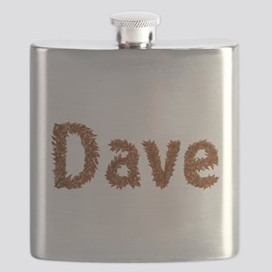 Dave Fall Leaves Flask