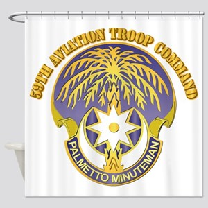 59th Aviation Troop Command with Text Shower Curta