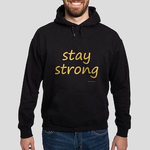 stay strong Hoodie (dark)