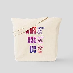 Start - Use - Do Tote Bag