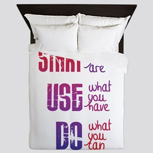 Start - Use - Do Queen Duvet