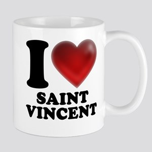 I Heart Saint Vincent Mugs