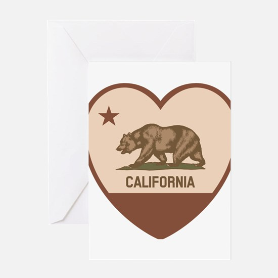 Love California Greeting Cards