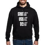 Start - Use - Do Hoodie