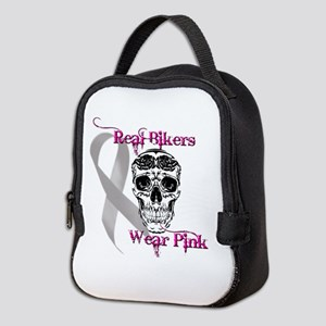 Real Men Wear Pink Neoprene Lunch Bag