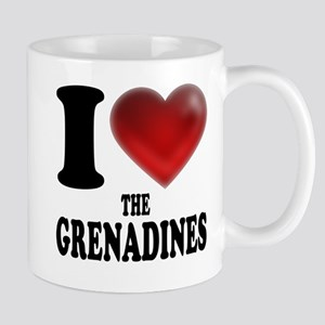 I Heart The Grenadines Mugs