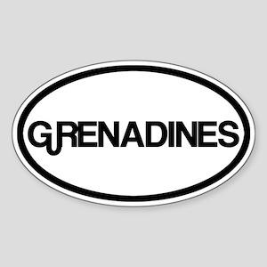 Grenadines Sticker