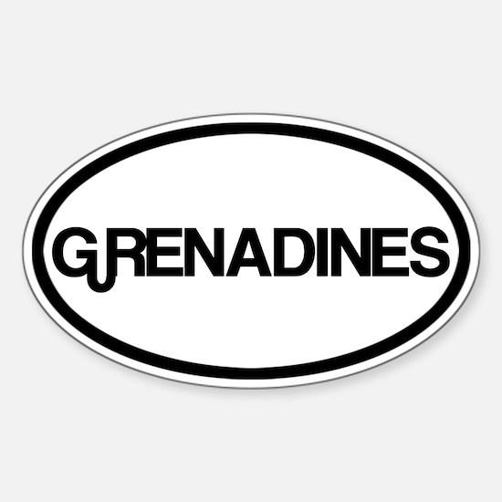 Grenadines Decal
