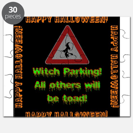 Witch Parking - Toad Puzzle