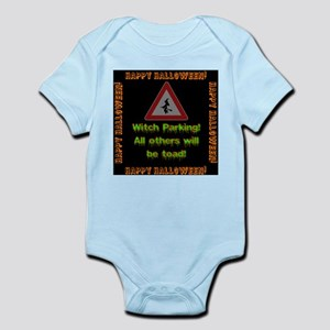 Witch Parking - Toad Baby Light Bodysuit