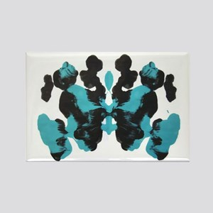 Blue Wednesday Inkblot Magnets