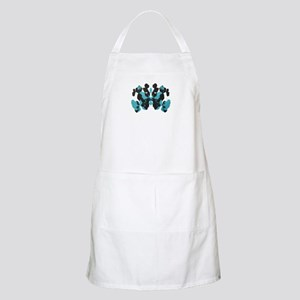 Blue Wednesday Inkblot Apron