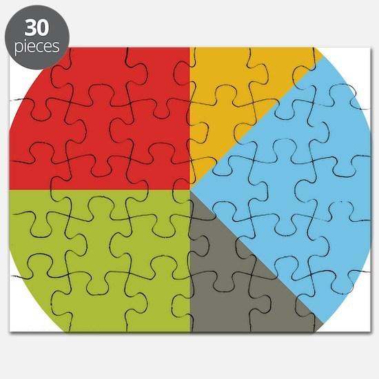 Simple Pie Chart Puzzle