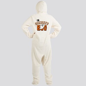 Im Someones Boo Ghost Halloween Footed Pajamas