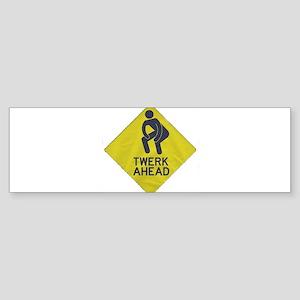 TWERK Bumper Sticker